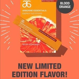 PREORDER arbonne blood orange fizz sticks